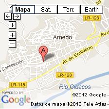 mapa de centro CEBIE